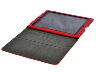 Чехол-книжка для планшета Apple iPad 2, Apple iPad 3 красный