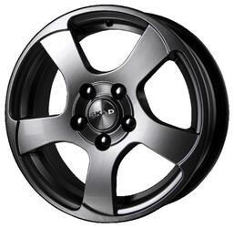 Автомобильный диск литой Скад Акула 6x16 4/108 ET 39 DIA 67,1 Грей