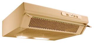 Вытяжка полновстраиваемая Turbo Sabaudia F60 BR коричневый