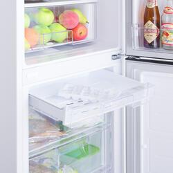 Холодильник с морозильником LG GA-B409SVCA белый
