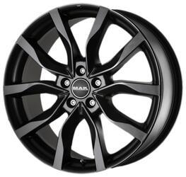 Автомобильный диск литой MAK Highlands 7x17 5/114,3 ET 40 DIA 76 Matt Black