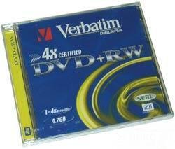 Диск Verbatim DVD-RW 4.7Gb
