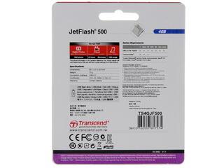 Память USB Flash Transcend JetFlash 500/530 4 Гб