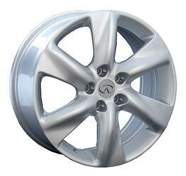 Автомобильный диск Литой Replay INF14 9,5x21 5/114,3 ET 50 DIA 66,1 Sil