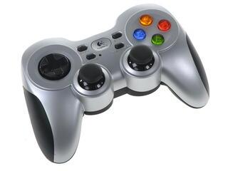 Геймпад Logitech Wireless Gamepad F710 (940-000145) серебристый