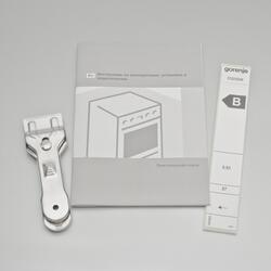 Электрическая плита Gorenje EC 52103 AW белый