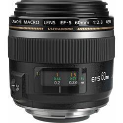 Объектив Canon EF-S 60mm F2.8 USM Macro