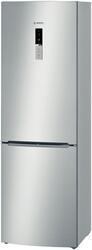 Холодильник с морозильником BOSCH KGN36VL11 серебристый