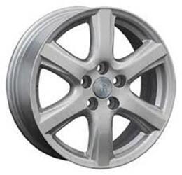 Автомобильный диск литой Replay TY40 7x17 5/114,3 ET 39 DIA 60,1 Sil