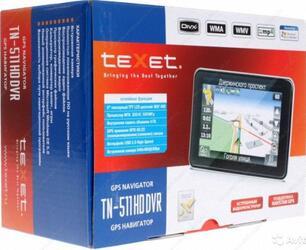 GPS навигатор teXet TN-511HDDVR