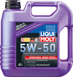 Моторное масло LIQUI MOLY Synthoil High Tech 5W50 9067, полиальфаолефин