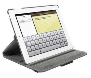 Чехол-книжка для планшета Apple iPad 3 серый