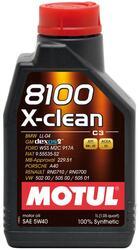 Моторное масло MOTUL 8100 X-clean 5W40 102784