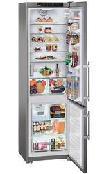 Холодильник с морозильником Liebherr CNes 4023-23 серебристый