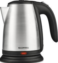 Электрочайник Maxwell MW-1011-01 черный, серебристый