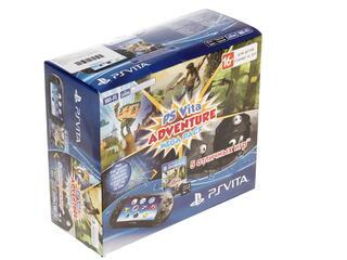 Портативная игровая консоль PS Vita 2000  + Mega Pack Adventure