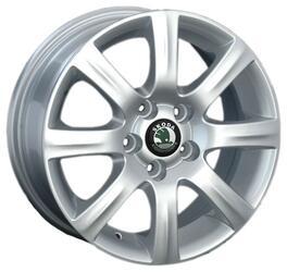 Автомобильный диск литой Replay SK31 6x14 5/100 ET 40 DIA 57,1 Sil