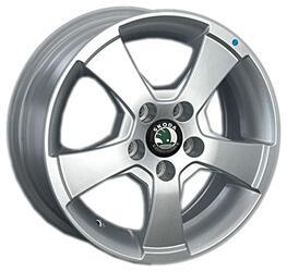 Автомобильный диск литой Replay SK29 6x14 5/100 ET 55 DIA 63,3 Sil