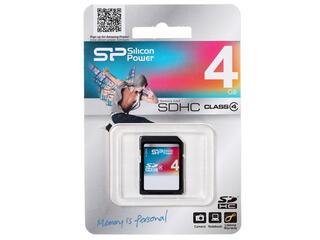 Память Silicon Power (SDHC) 4 Gb class 4
