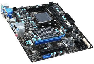Плата MSI 760GMA-P34 (FX) Socket-AM3+ AMD 760G DDR3 mATX AC`97 8ch(7.1) GbLAN SATA3 RAID VGA+DVI USB3.0