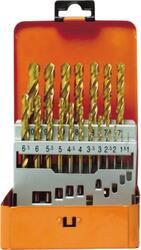 Набор сверл Projan 19 HSS TIN Typ N 1-10/0.5 мм