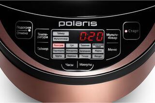 Мультиварка Polaris PMC 0514AD коричневый