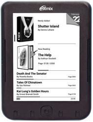 6'' Электронная книга Ritmix RBK-620 черный