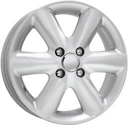 Автомобильный диск Литой K&K Фиера 5x13 4/98 ET 35 DIA 58,5 Сильвер
