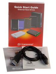 """2.5"""" Внешний HDD Transcend [TS2TSJ25A3K]"""