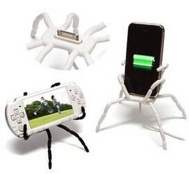 Универсальный держатель Spider Fix Maxi для планшетов (Белый)