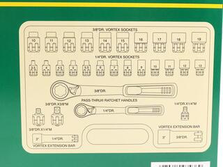 Набор торцевых головок SATA 09132