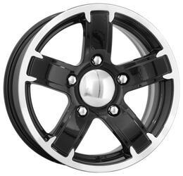 Автомобильный диск Литой K&K Ангара 6,5x15 5/139,7 ET 15 DIA 98 Алмаз черный