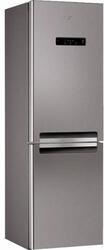 Холодильник с морозильником Whirlpool WBV 3387 NFC IX серебристый