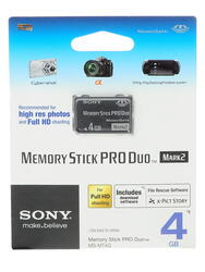 Карта памяти Sony MSMT4GT MS Pro Duo 4 Гб
