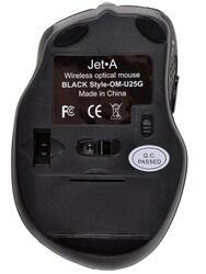 Мышь беспроводная Jet.A Black Style OM-U25G
