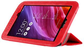 Чехол-книжка для планшета ASUS Fonepad 7 FE170CG, ASUS MeMO Pad 7 ME170C красный
