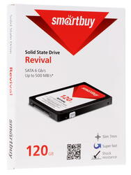 120 ГБ SSD-накопитель Smartbuy Revival [SB120GB-RVVL-25SAT3]