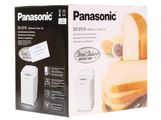 Хлебопечь Panasonic SD-2510 WTS белый