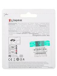 Карта памяти Kingston SDC4/32GBSP microSDHC 32 Гб