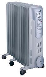 Масляный радиатор Rolsen ROH-D11 серебристый