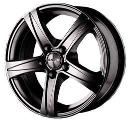 Автомобильный диск литой Скад Sakura 6,5x15 5/114,3 ET 49 DIA 67,1 Грей