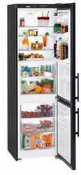 Холодильник с морозильником Liebherr CBNb 3913-22 черный