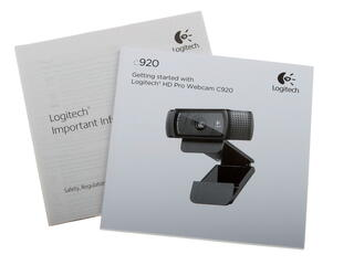 Веб-камера Logitech HD Pro C920