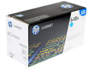 Картридж лазерный HP 648A (CE261A)