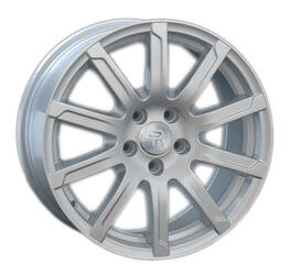 Автомобильный диск литой Replay A67 8x17 5/112 ET 26 DIA 66,6 Sil