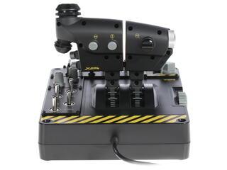 Джойстик Saitek X-55 Rhino H.O.T.A.S. черный