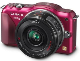 Камера со сменной оптикой Panasonic Lumix DMC-GF5X Kit 14-42mm