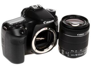 Зеркальная камера Canon EOS 70D Kit 18-55mm IS STM черный