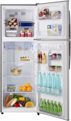 Холодильник с морозильником Sharp SJ311VSL серебристый