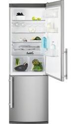 Холодильник с морозильником Electrolux EN3441AOX серебристый